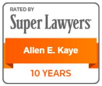 Super Lawyers - Allen Kaye